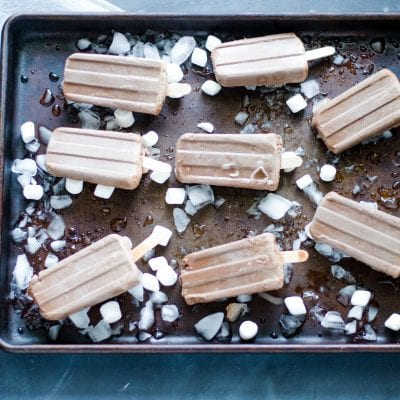 Chai Hot Chocolate Fudgesicles