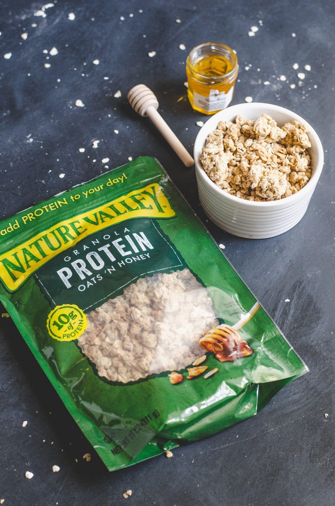 Tropical Protein Parfaits