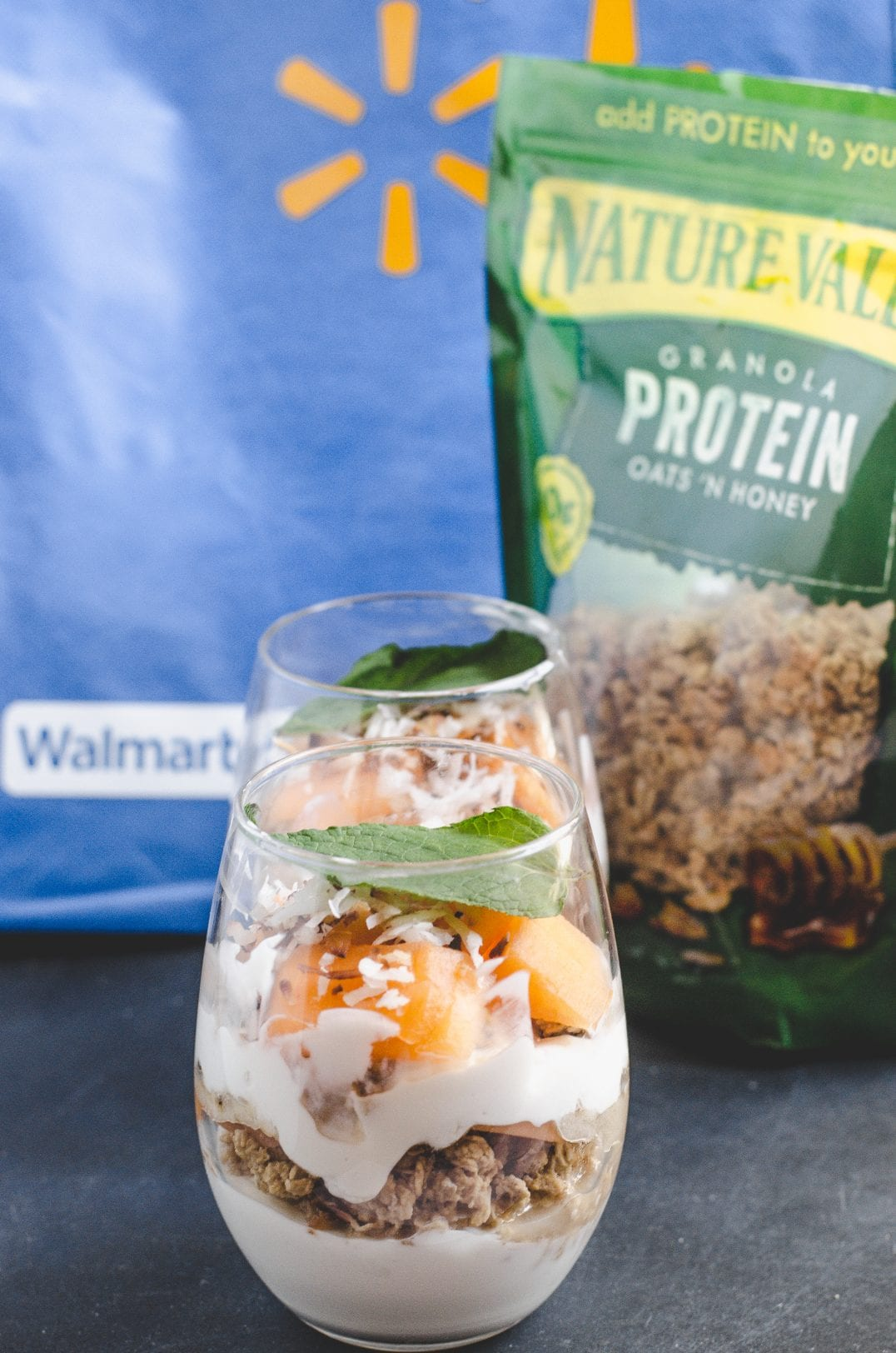 Tropical Protein Parfaits