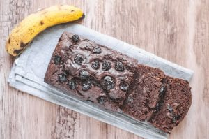 Chocolate Cherry Banana Bread