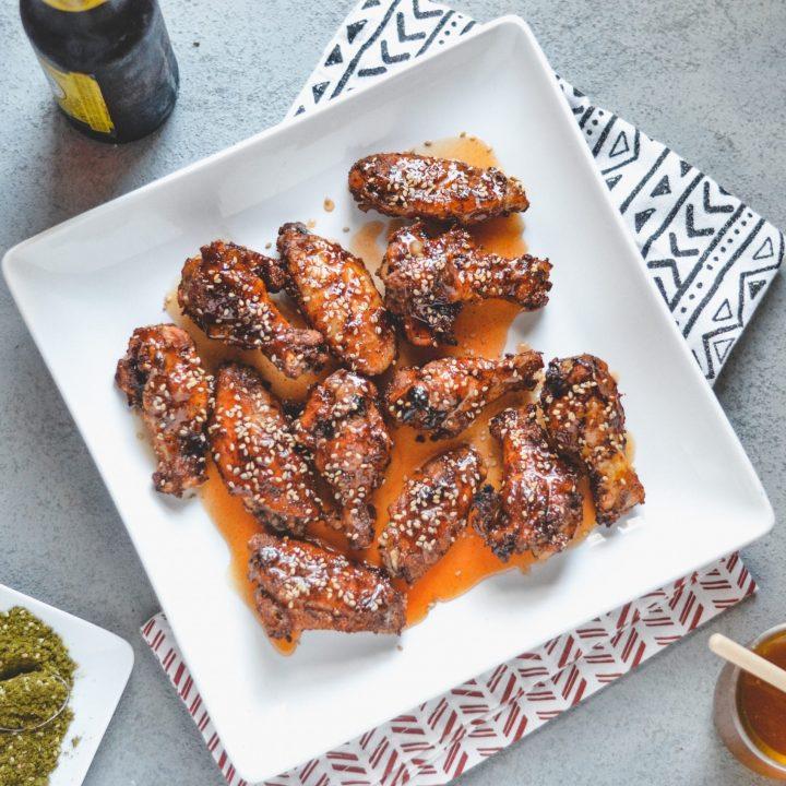 Honey Za'atar Hot Wings