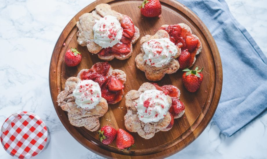 Strawberry Shortcake Biscuits