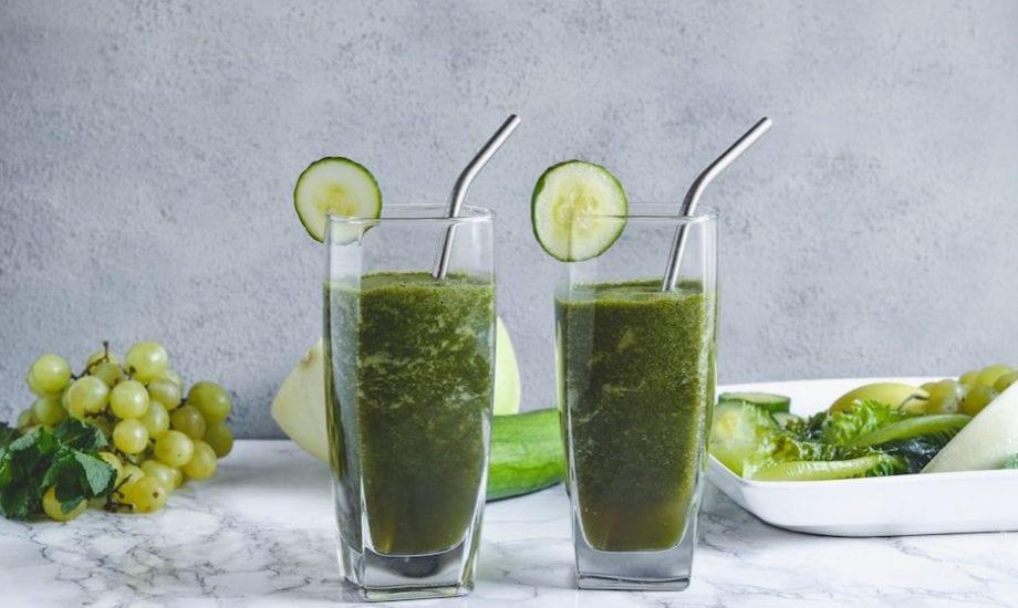 Cucumber Melon Smoothie