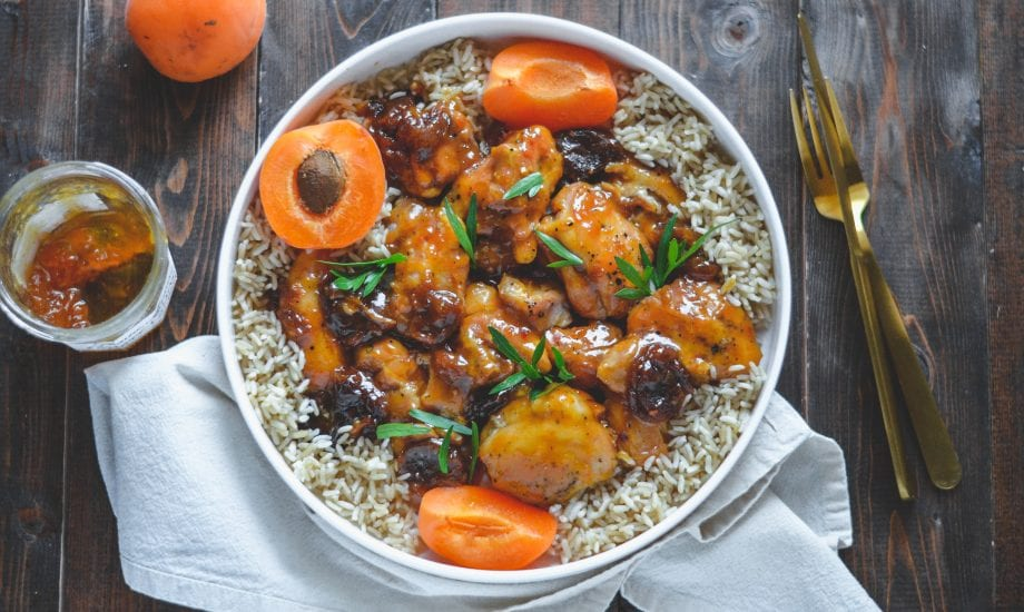 Instant Pot Apricot Chicken