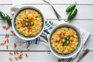 Cheesy Jalapeño Popper Soup