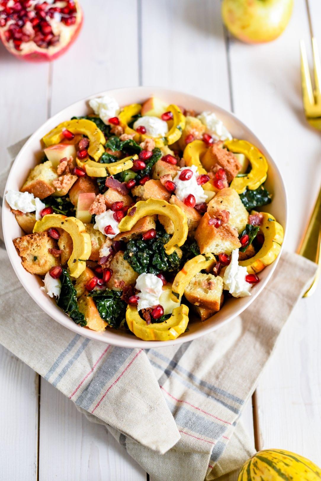 Harvest Panzanella Salad