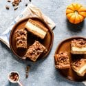 Pumpkin Pecan Cheesecake Bars