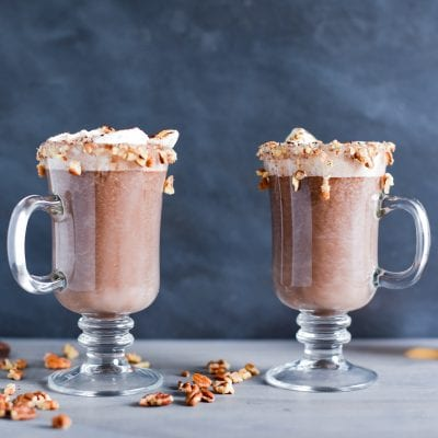 Bourbon Ball Hot Chocolate