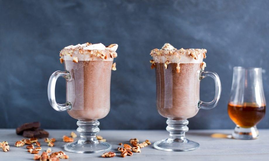 Bourbon Ball Hot Chocolate