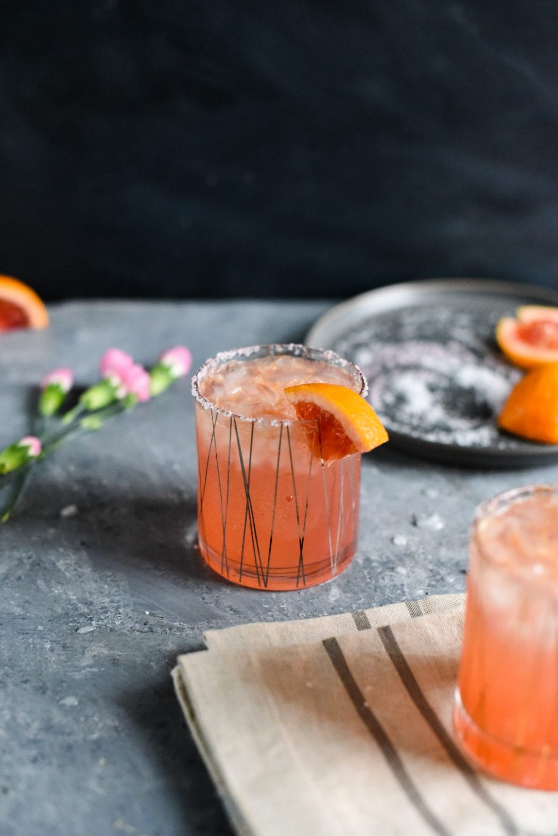 Blood Orange Vanilla Bean Paloma