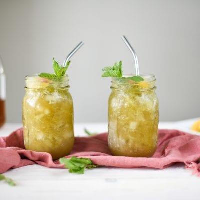 Boozy Southern Belle Slush
