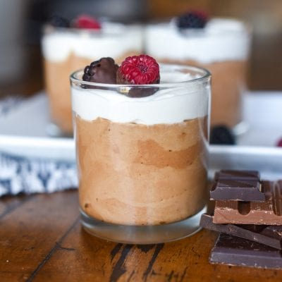 Chocolate Raspberry Mousse