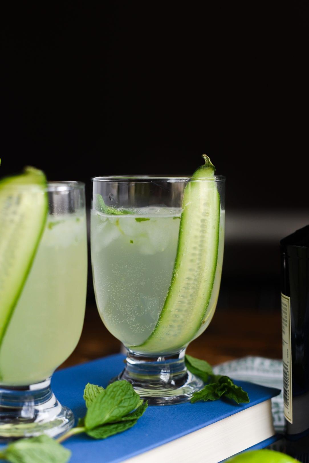 Cucumber Mint Gin Fizz