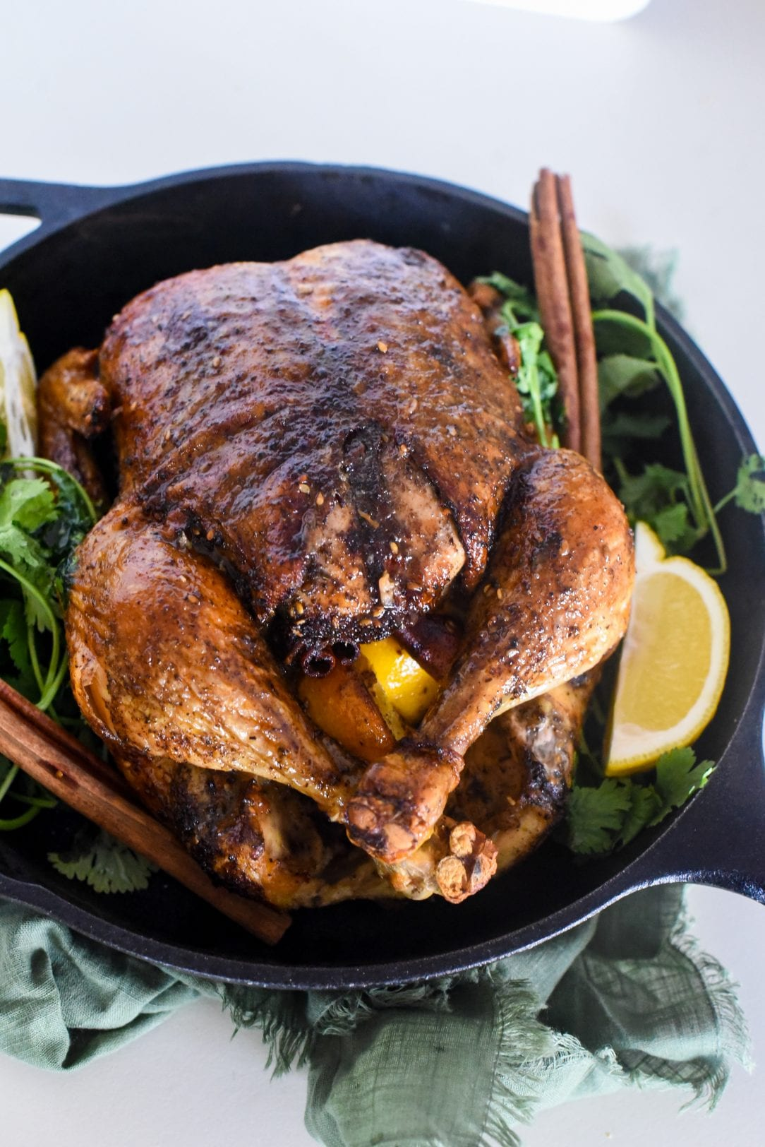 Middle Eastern Slow Roasted Chicken