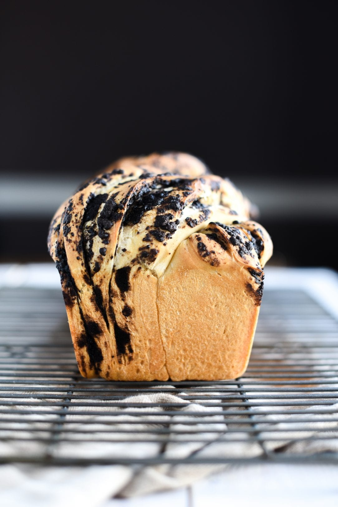 cooked loaf of bread