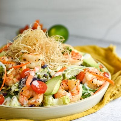 Thai Shrimp Salad with Coconut Lime Dressing