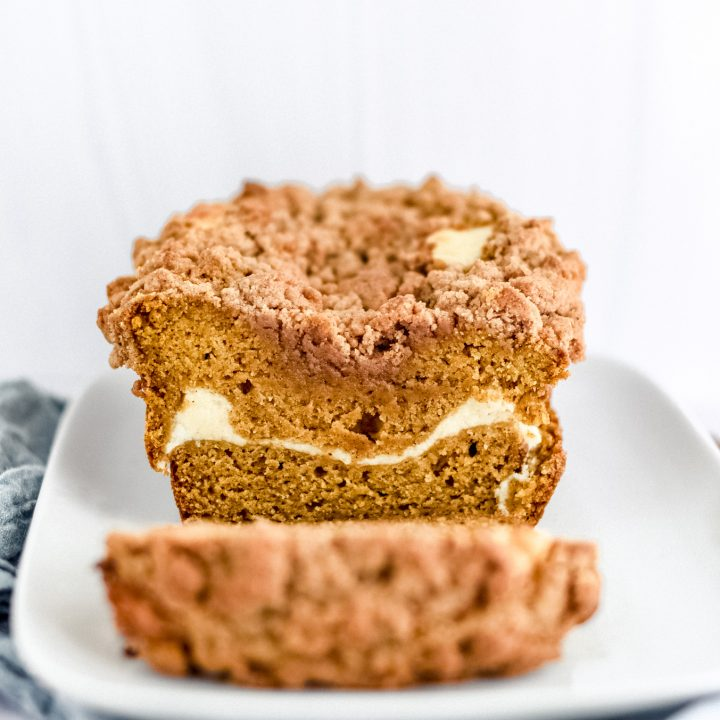 Pumpkin Cheesecake Streusel Bread