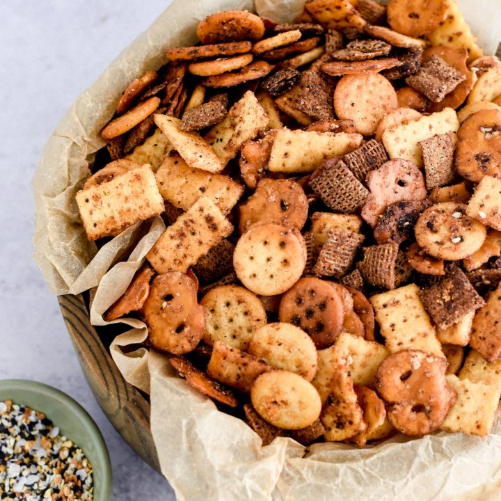 Slow Cooker Fiesta Ranch Snack Mix