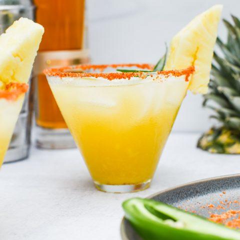 Pineapple Jalapeño Whiskey Sour